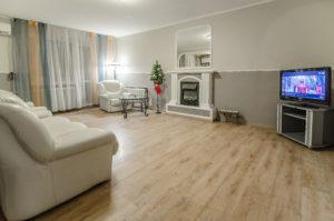 Аренда посуточно трехкомнатной квартиры в Киеве.