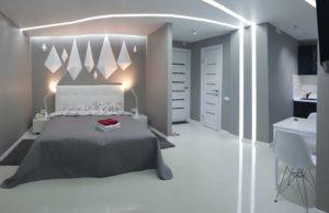 Современная студия с джакузи ванной для посуточной аренды в Киеве