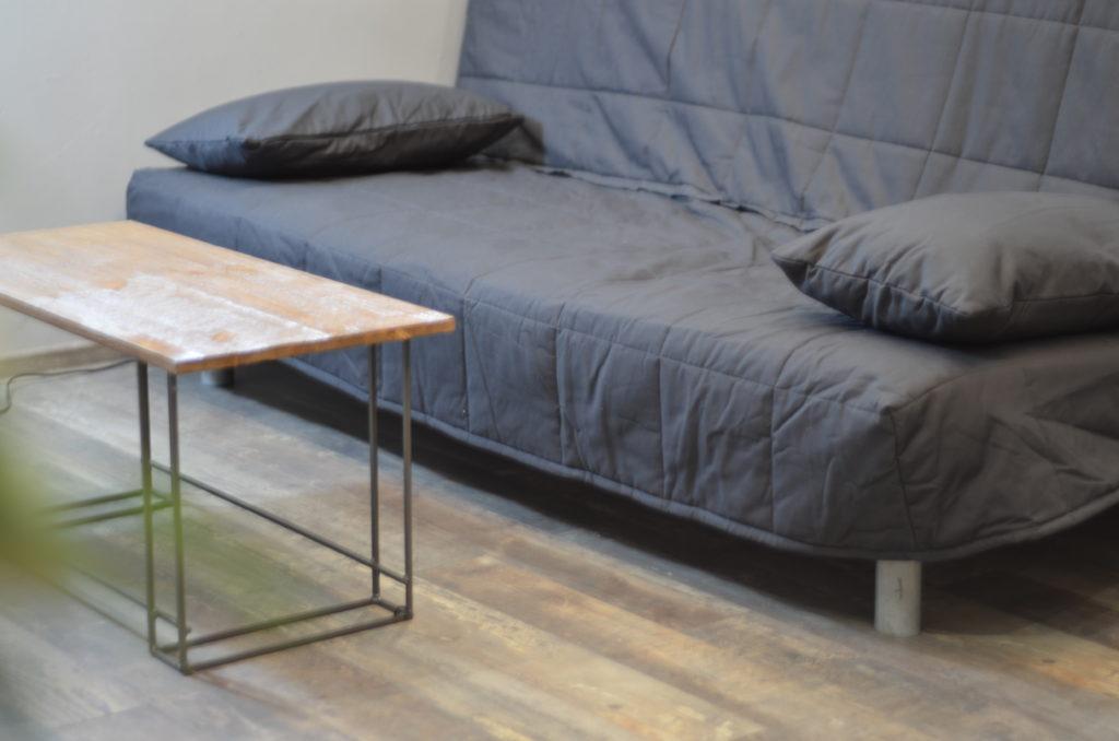 Раскладной диван.