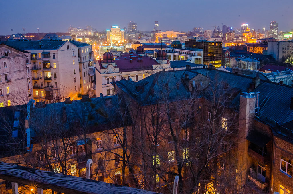 Квартира посуточно с видом на Майдан Независимости